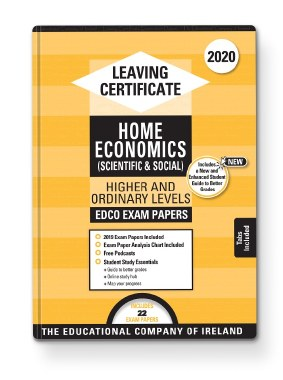 2020 Exam Papers Leaving Cert Home Economics Higher and Ordinary Level Ed Co