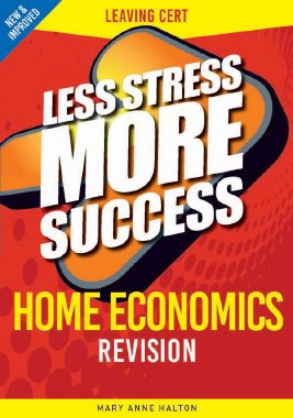 Less Stress More Success Home Economics Leaving Cert Gill and MacMillan