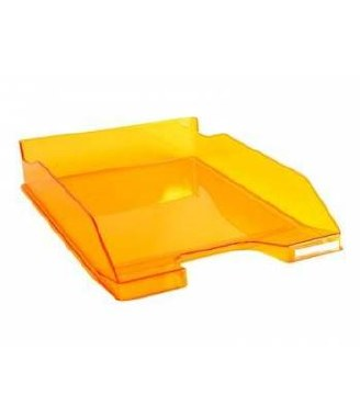 Letter Tray Single Orange