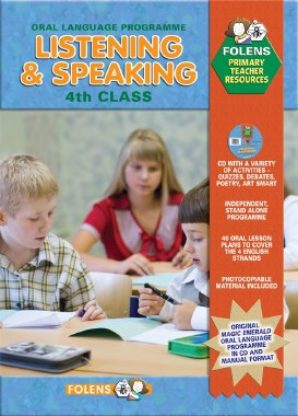 Listening and Speaking 4th Class Book and CD Folens