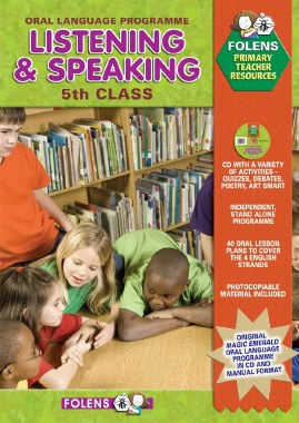 Listening and Speaking 5th Class Book and CD Folens