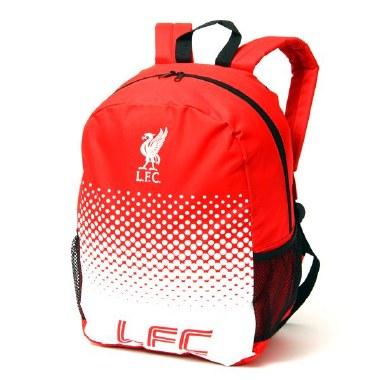 Liverpool FC Fade School Bag Official Merchandise