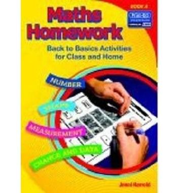 Maths Homework Back to Basics Book A Senior Infants Prim Ed