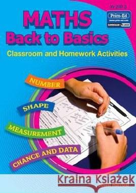 Maths Homework Back to Basics Book B First Class Prim Ed