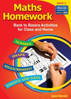 Maths Homework Back to Basics Book C Second Class Prim Ed