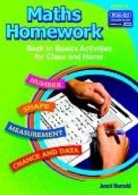 Maths Homework Back to Basics Book E Fourth Class Prim Ed