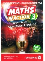 Maths in Action 3 Higher Level Junior Cert with Free E Book Educate
