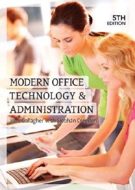 Modern Office Technology and Administration 5th Edition Gill and MacMillan