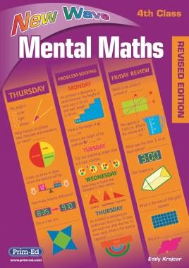 New Wave Mental Maths 4 Fourth Class Prim Ed