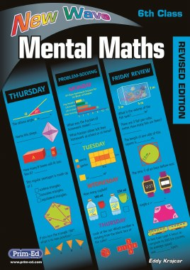 New Wave Mental Maths 6 Sixth Class Prim Ed