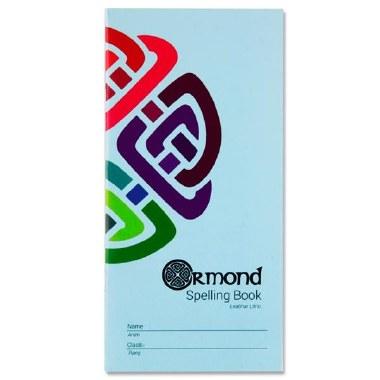 Ormond Spelling Notebook