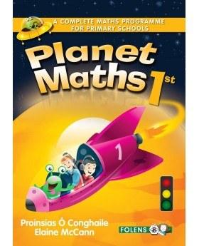 Planet Maths 1st Class PupilsText Book Folens
