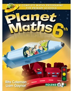 Planet Maths 6th Class Pupils Text Book Revised Folens