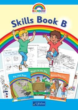 Rainbow Skills Book B Senior Infants Class CJ Fallon