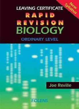 Rapid Revision Biology Leaving Cert Ordinary Level Folens