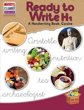 Ready To Write H1 6th Class Cursive Writing Ed Co