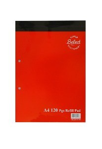 Refill Pad A4 Top Open 120 Page Supreme