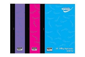 Refill Pad A4 Side Open 140 Page Pastel Supreme