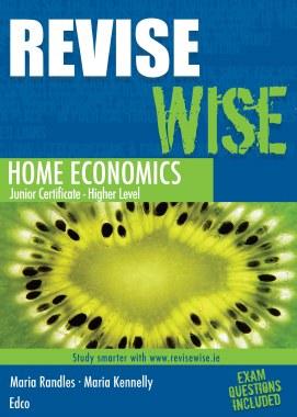 Revise Wise Home Economics Junior Cert Higher Level Ed Co