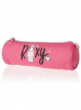 Roxy Pencil Case One Day Strawberry Pink