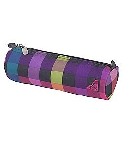 Roxy Pencil Case Off The Wall Plaid