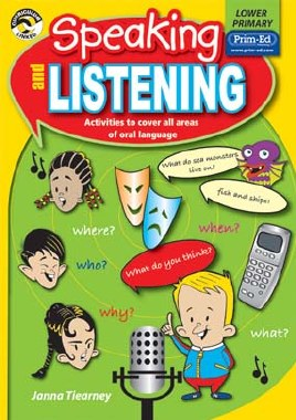Speaking and Listening  Lower Classes 1st and 2nd Class Prim Ed