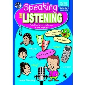 Speaking and Listening  Middle Classes Third and Fourth Class Prim Ed