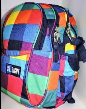 St. Right School Bag Maxi Squares 26 Litres