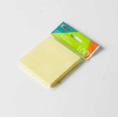 Sticky Adhesive Notes 3x3 100 Yellow Perfect Stationery