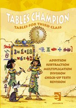 Tables Champion 3 Tables for Third Class Educate