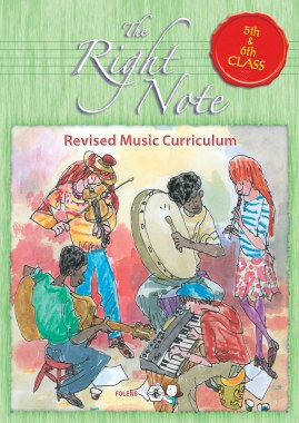 The Right Note 5th and 6th Class Pupils Activity Book Folens