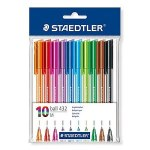 10 Triangle Ballpoint Pens Staedtler