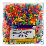 Colouered Pegs 1000 pack Crafty Bitz