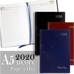 Diary 2020 A5 Page A Day