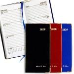 Diary 2020 PVC Slim Week To View