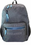 Freelander School Bag Diji Tec Laptop Backpack Grey 28 Litres