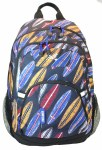 Freelander School Bag Multi Compartment Backpack Surfboards 30 Litres