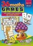 36 Maths Games of Chance and Strategy 1st and 2nd Class Prim Ed