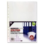 Punched Pockets Extra Strong 80 Pack