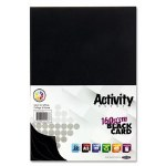 A3 Card Black 20 Sheets Premier