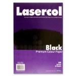 A4 Black Paper 50 Sheets 80g