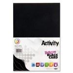 A4 Card Black 40 Sheets 160g