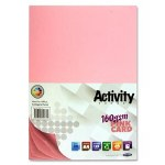 A4 Card Pink 50 Sheets 160g