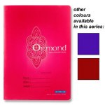 Copy A4 Plastic Cover Ormond 120 page in a choice of 3 Colours