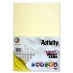 A4 Card Cream 50 Sheets 160g