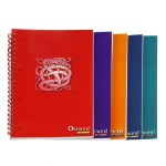 Refill Pad 200 Page Spiral Plastic Covered Notebook A4 Ormond