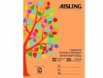 Copy Aisling Maths 20mm Square 32 page ASJ07