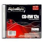 Rewritable CD in case