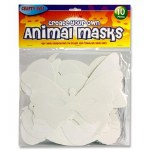Create your own Animal Masks 10 pack
