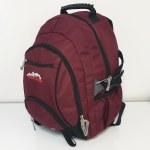 Ridge 53 School Bag Bolton Maroon 32 Litres